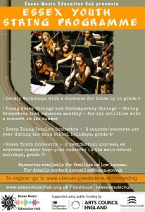 essex youth string programme