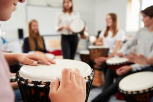 Djembe drumming class