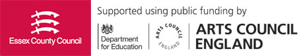 Essex County Council and Arts Council England logos
